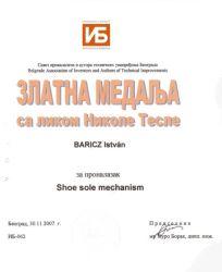TESLA díj - Belgrád
